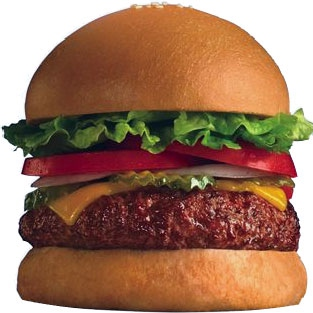 Time to Eat a Burger