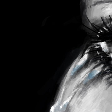 I wish i wouldn't waste my tears on you. but my heart is aching