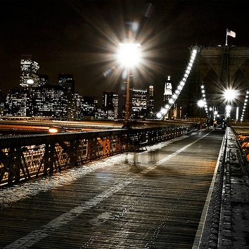 Making Out On the Brooklyn Bridge At 2AM