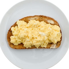 Scrambled Egg and Rye