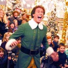 The best way to spread Christmas cheer is singing loud for all to hear.