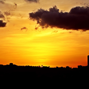 This is what Caracas Sunset means...
