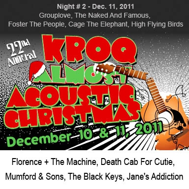 The 22nd Annual KROQ Almost Acoustic Christmas - Night # 2 Mix