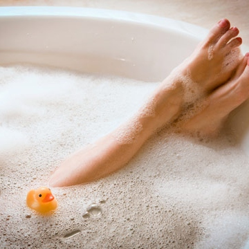 the longest and most glorious bubble bath you will ever take.