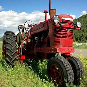 What Did the Farmer Say When He Lost His Tractor?