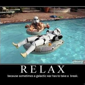 Relax once in a while -