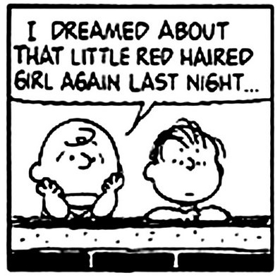 Charlie Brown's Mix for the Red-Haired Girl.