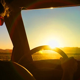To road trip alone or in silence