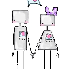 Fall in love, you robot!