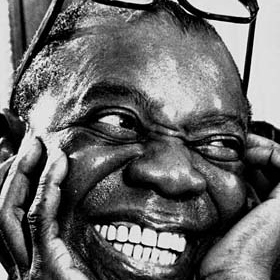 """""""All music is folk music. I ain't never heard a horse sing a song""""- Louis Armstrong"""