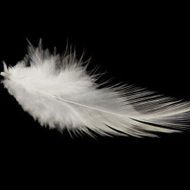 As light as a feather