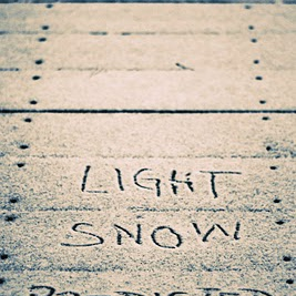 Light snow showers