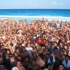 Spring Break 2012 -just tequila and the beach, it's quite salty when we kiss.