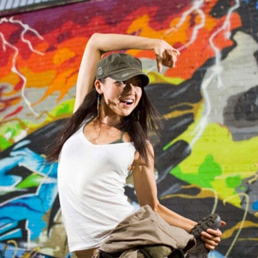 Dance all the way,sunshine! - totally bollywood hiphop