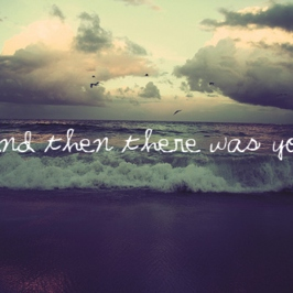 Almost everything I wish I'd said the last time I saw you..