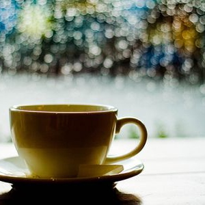 Drinking Tea on a Rainy Day
