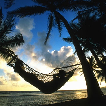 layin in the hammock