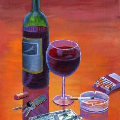 Cigarettes and Wine II