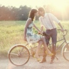 I just want to ride bikes with you.
