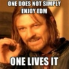 One Does Not Simply Enjoy EDM