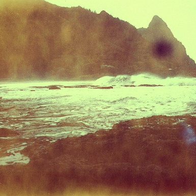 taken by the tranquil waves