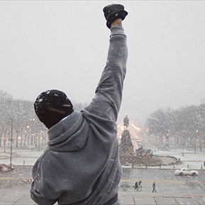 Gonna Fly Now (and other mostly movie motivators)
