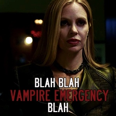 Blah Blah Vampire Emergency Blah