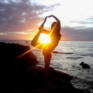 Beach Yoga Session 2012