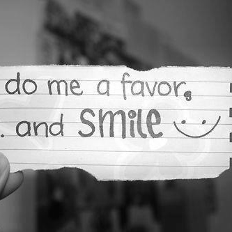 Put a smile on your face and make the world a better place.
