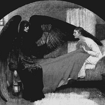 You're the phantom in my bed