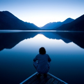 Be Still and Know that I AM Here.