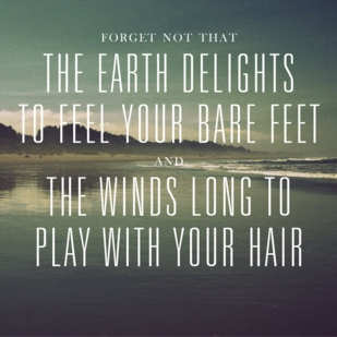 the wind longs to play with your hair