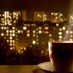 Late night café