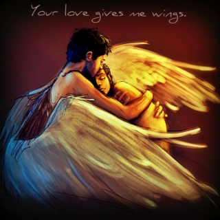 Your love gives me wings