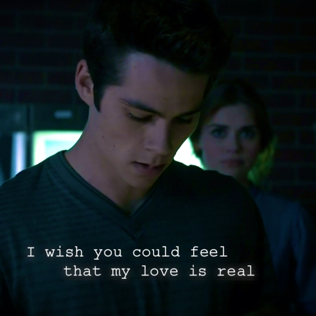 I Wish You Could Feel That My Love is Real