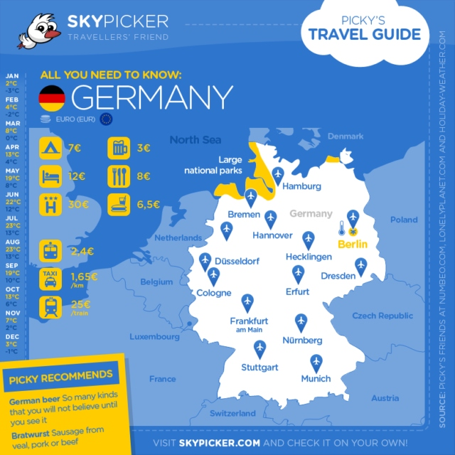 Skypicker destination: Germany