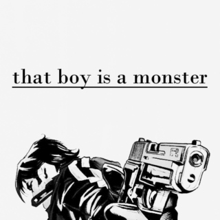 that boy is a monster