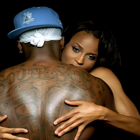 he does it with the best, runs it in the west, tatted on his chest ...