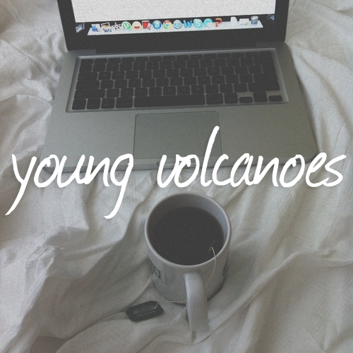 young volcanoes