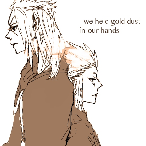 we held gold dust in our hands