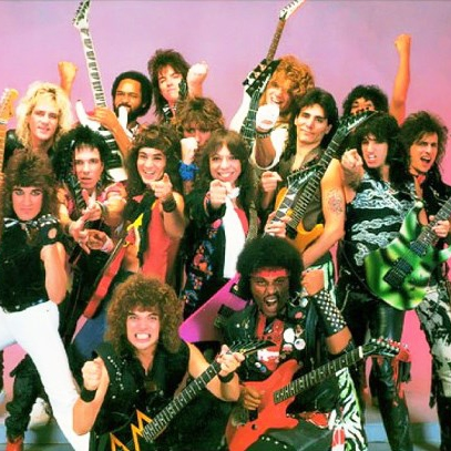 Image result for 80s metal