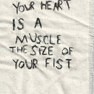 your heart is a muscle the size of your fist