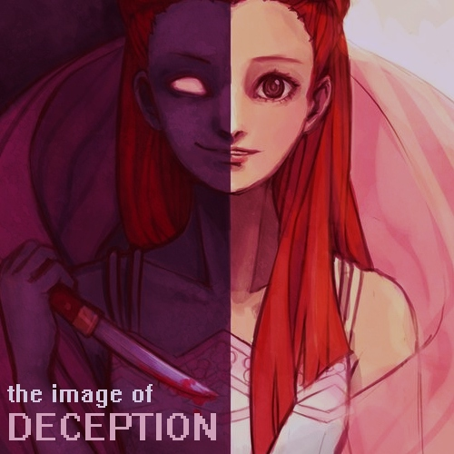 the image of deception ♥