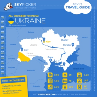 Skypicker destination: Ukraine