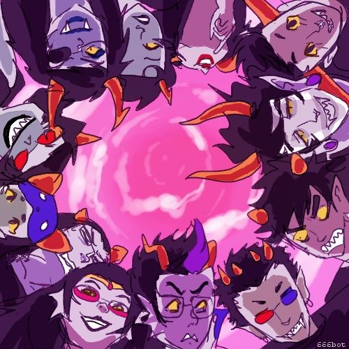 How am i gonna get myself back home {Homestuck}