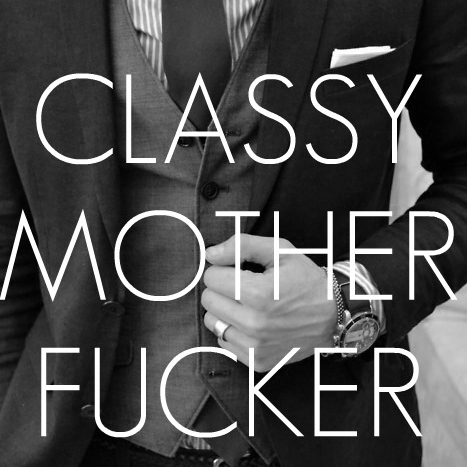 Being classy aint easy