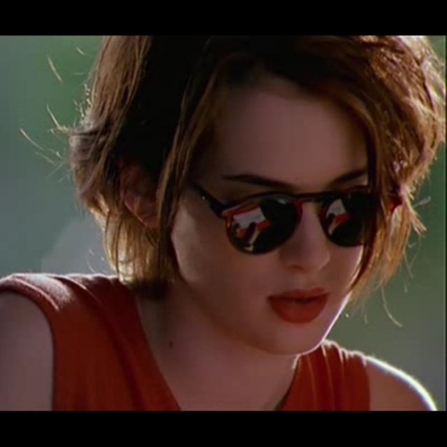Hanging out with Winona Ryder