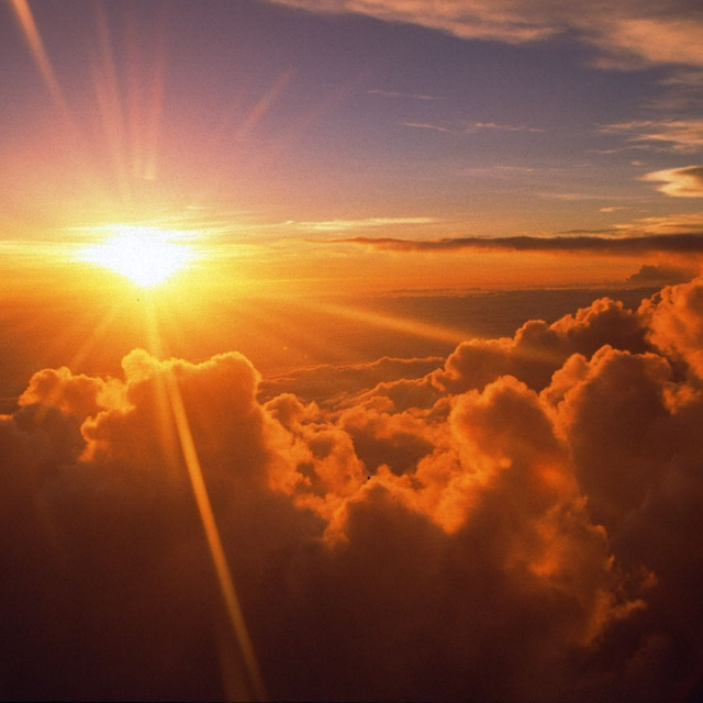 Rise with the morning sun