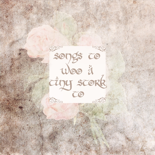 songs to woo a tiny stork to