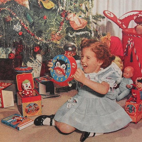 merry little 50s christmas